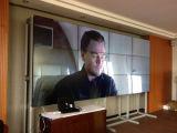 46 pulgadas de Samsung de 5,5 mm pantallas LCD Video Wall con alto rendimiento y soluciones de cartelería Profesional