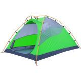 Tenda anti-pioggia di alluminio doppia di campeggio esterna di corsa del gel di silice della barra