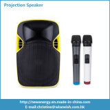 プラスチックPAシステム携帯用段階LEDの投射のスピーカーDLPプロジェクター