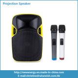 Projektions-Lautsprecher DLP-Projektor Plastik-des PA-Systems-beweglicher Stadiums-LED