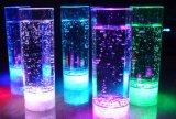 Kundenspezifisches Firmenzeichen druckte Plastik beleuchten oben blinkendes LED-Cup