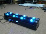 도매 LED 바 8X10W RGBW 이동하는 맨 위 Sharpy 광속 빛 DJ 디스코 당
