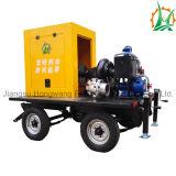 Bomba centrífuga Diesel Emergency do encanamento da luta contra o incêndio com reboque