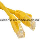 Cable azul del audio del conector de cable de la comunicación de cable de datos del cable del cable/del ordenador de RJ45 UTP CAT6