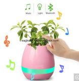 Potenciômetro de flor esperto novo da música de 2017 Bluetooth com luz do diodo emissor de luz