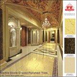 Плитки пола фарфора высокого качества мраморный застекленные камнем Polished (VRP69M017)