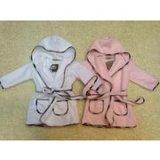 Albornoz/manta/camisa de dormir/pijama del algodón del bebé encapuchado promocional