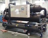 Macchina di raffreddamento del compressore del refrigeratore raffreddato ad acqua gemellare della vite