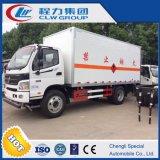 販売のための発破装置の輸送のトラック