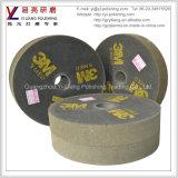 400の屑のステンレス鋼の紙やすりで磨く磨く車輪