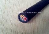 cable de goma forrado PVC aislado PVC 0.6/1kv