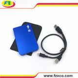 Carrito externo del mecanismo impulsor duro del USB del aluminio delgado estupendo 2.5 ''