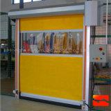 Porte d'obturateur électrique à rouleaux rapides