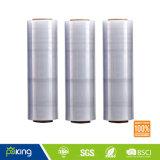 Película de estiramento da alta qualidade LLDPE para o empacotamento da pálete