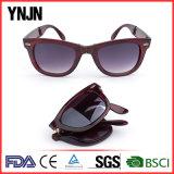 Coutume de qualité votre propre se plier unisexe de lunettes de soleil de logo (YJ-AQ0287)