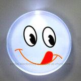 Cusmtom 크리스마스 선물 플라스틱 LED 단추 기장 (3569)