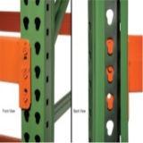 Prateleiras de aço resistentes do armazenamento de racking do Teardrop