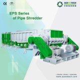 Reducción Shredder alta Tamaño de salida para tubos de plástico de diámetro grande