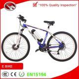 Bici de montaña eléctrica del motor de la botella del marco de aluminio medio de la batería
