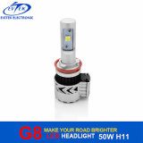 De Uitrusting H8 H9 H11 H16jp van de auto Lichte 72W 6000lm G8 LEIDENE CREE xhp-50 Koplamp van de Auto