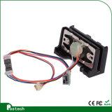 Plus petit lecteur de cartes de vente chaud de piste magnétique de Msr Msr009 USB Msr009 avec deux câbles usb