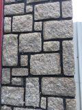 중국 Granite/G681/Cobble 돌 포석 또는 백색 또는 베이지색 또는 회색 또는 까맣고 또는 노랗고 또는 녹색 또는 브라운 화강암 또는 마루 도와 또는 자연적인 돌 또는 화강암 석판 또는 돌 도와