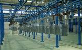 La chaîne de production d'enduit de poudre pour des pièces de bicyclette