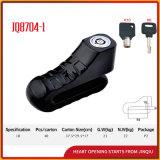 Sicherheits-Fahrrad-Verschluss Moctorcycle Platte-Verschluss der Farben-Jq8704-1 zwei populärer