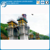 Sauter le coffrage pour la construction d'édifice haut