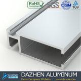 Profil d'aluminium de porte coulissante de tissu pour rideaux de guichet de série du Ghana