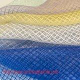 Tela tingida do vestuário da tela do jacquard da tela do poliéster tela química para a cortina do vestido cheio do vestuário