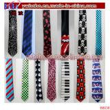 Relation étroite maigre mince de travail de relations étroites de mariage de satin des cravates des hommes (B8046)