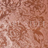 Feuille Kem002 gravée en relief par couleur d'argent d'acier inoxydable pour des matériaux de décoration