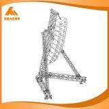 Línea de aluminio braguero del diseño del braguero de la azotea del altavoz del arsenal