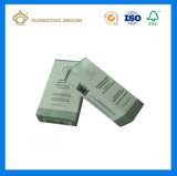 Дешевая складывая косметики печатание карточки золота коробка UV упаковывая бумажная для Cream сыворотки (выбитый логос)
