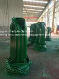 Transporteur de fil d'acier de base carrée de Yollow de sortie d'usine