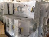 직류 전기를 통한 아연 강철 모터 220V 청정실 팬 필터 Unit/ISO9001에 의하여 증명되는 팬 필터 단위, 4X2 발 팬 필터 단위, 청정실 FFU