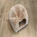 Casa do gato da flanela da base do animal de estimação do abastecimento em produtos do gato
