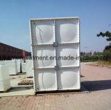 GRP/FRP/SMC montam o tanque de água & o tanque secional do painel