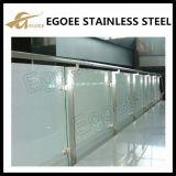 Projeto de vidro dos trilhos do aço inoxidável do balcão da alta qualidade, trilhos de vidro do balcão