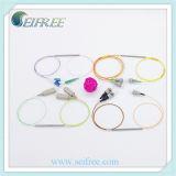 1X2 소형 광섬유 쪼개는 도구 Sc/LC/FC/St/Mu/E2000 PC/Upc/APC