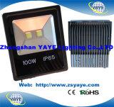 Garantia da alta qualidade do preço de fábrica de Yaye 18 2/3/5 da ESPIGA 10W do diodo emissor de luz de inundação de ano de projetor da luz/diodo emissor de luz
