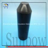 Selo de extremidade alinhado adesivo do cabo do tampão de extremidade de Hearshrink de encontro à umidade