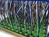 StiftM12 5 EinCode gerader Panel-Montierungs-Verbinder für Fühler mit Drähten
