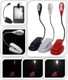 Les lampes rechargeables décoratives se pliantes DEL de DEL de livre du Nightlight de lumière nouveauté à la maison créatrice USB de lampe de la meilleure blanches/chauffent/bleus/rouge