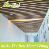 25X100mm Holz-Farben-Aluminiumkasten-Leitblech-Decke