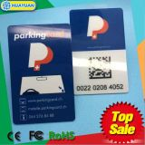 EPC Gen2 외국인 9662 QR 부호를 가진 H3 UHF 바람막이 유리 RFID 주차 카드