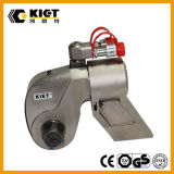 Llave inglesa de torque hidráulica de acero del mecanismo impulsor cuadrado