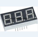 Visualización de LED tridigital de la marca de fábrica de la chavetera