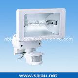 lâmpada do halogênio 500W com sensor de PIR (KA-FL-500D)